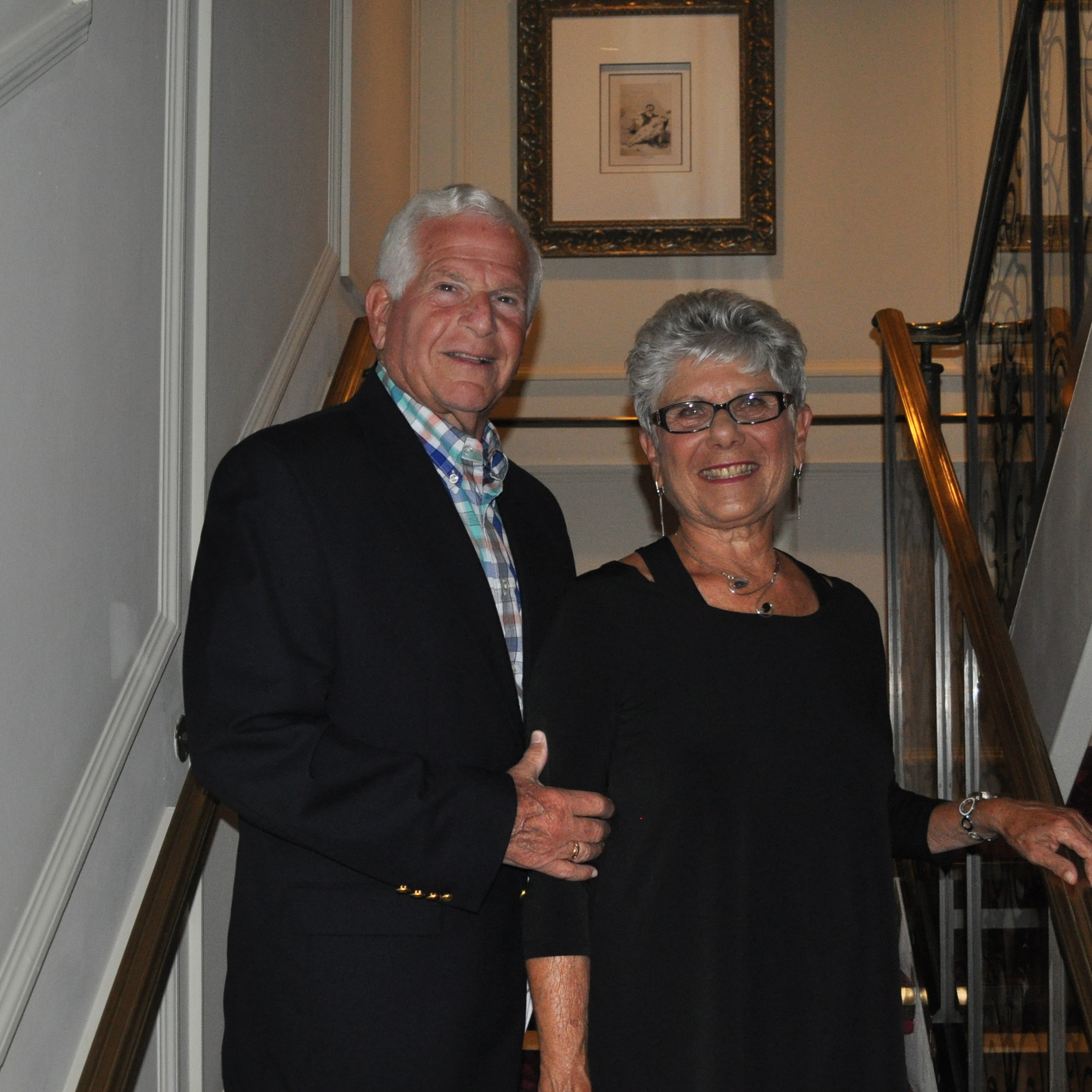 Karen R. Gerhardt, AS '64, and Lester A. Gerhardt, PhD '69, MS '64